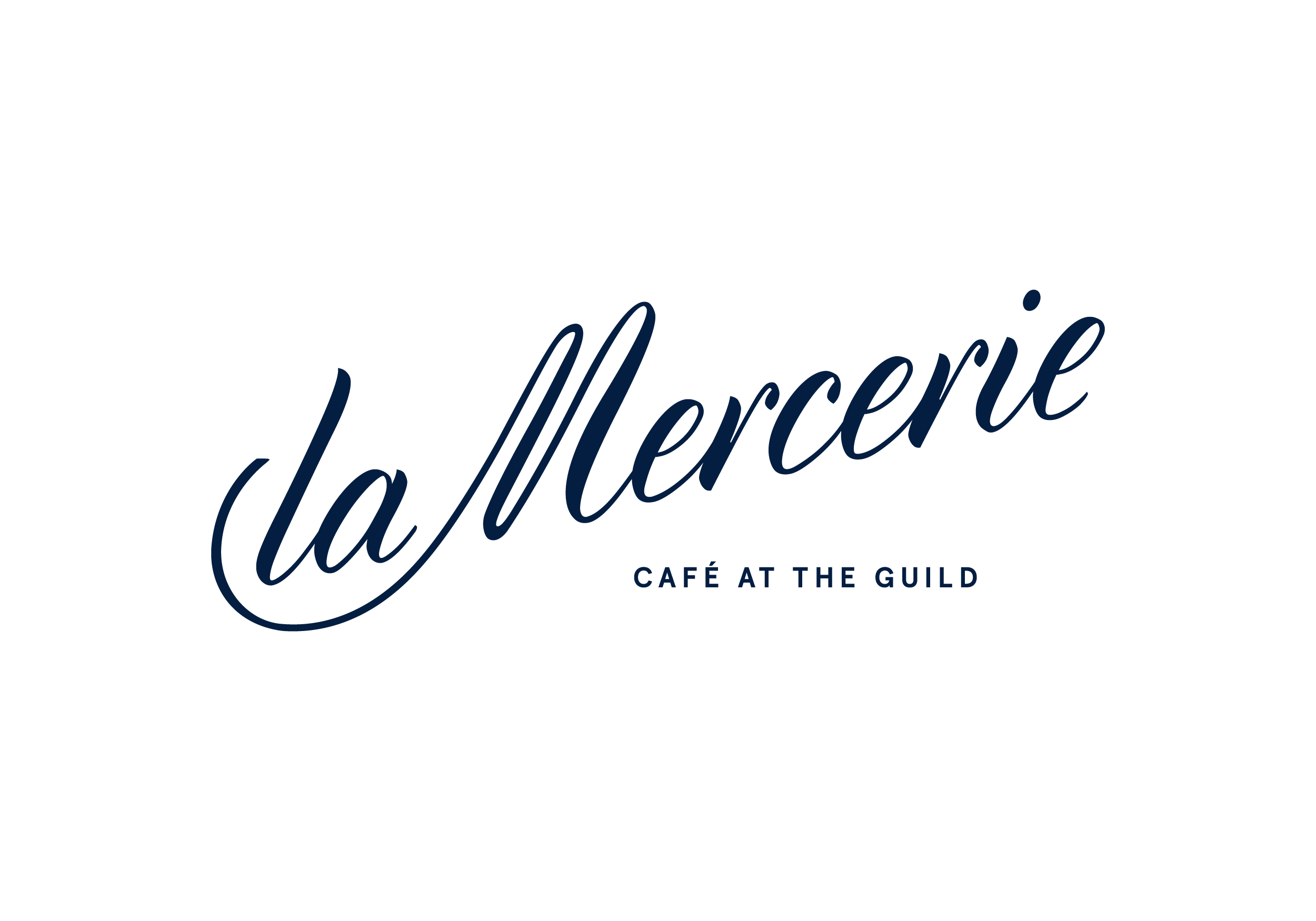 la Mercerie logo in blue
